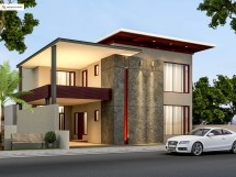 500 Yards House Elevation Behance