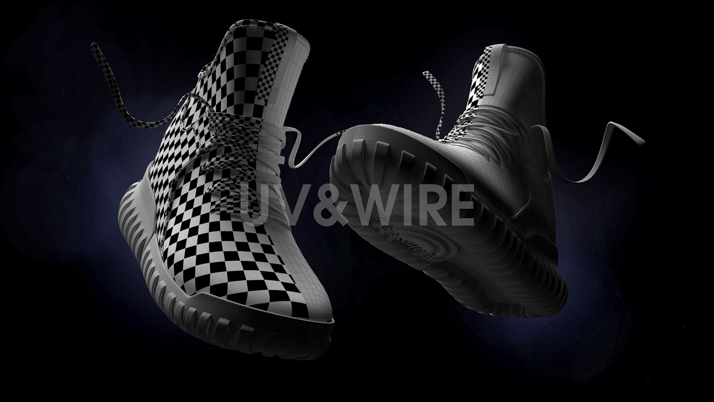 Adidas Tubular Primeknit CGi on Behance