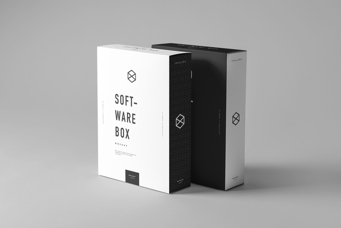 Download Software Box Mock-up on Behance
