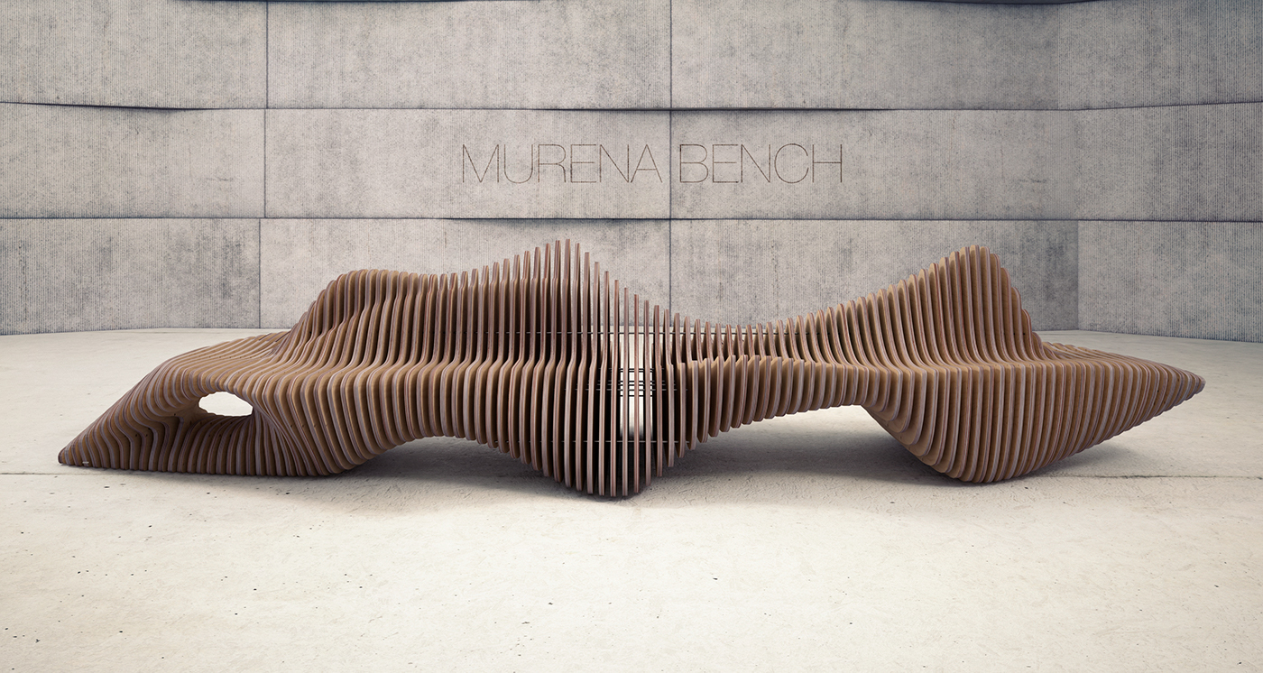 MURENA BENCH on Behance