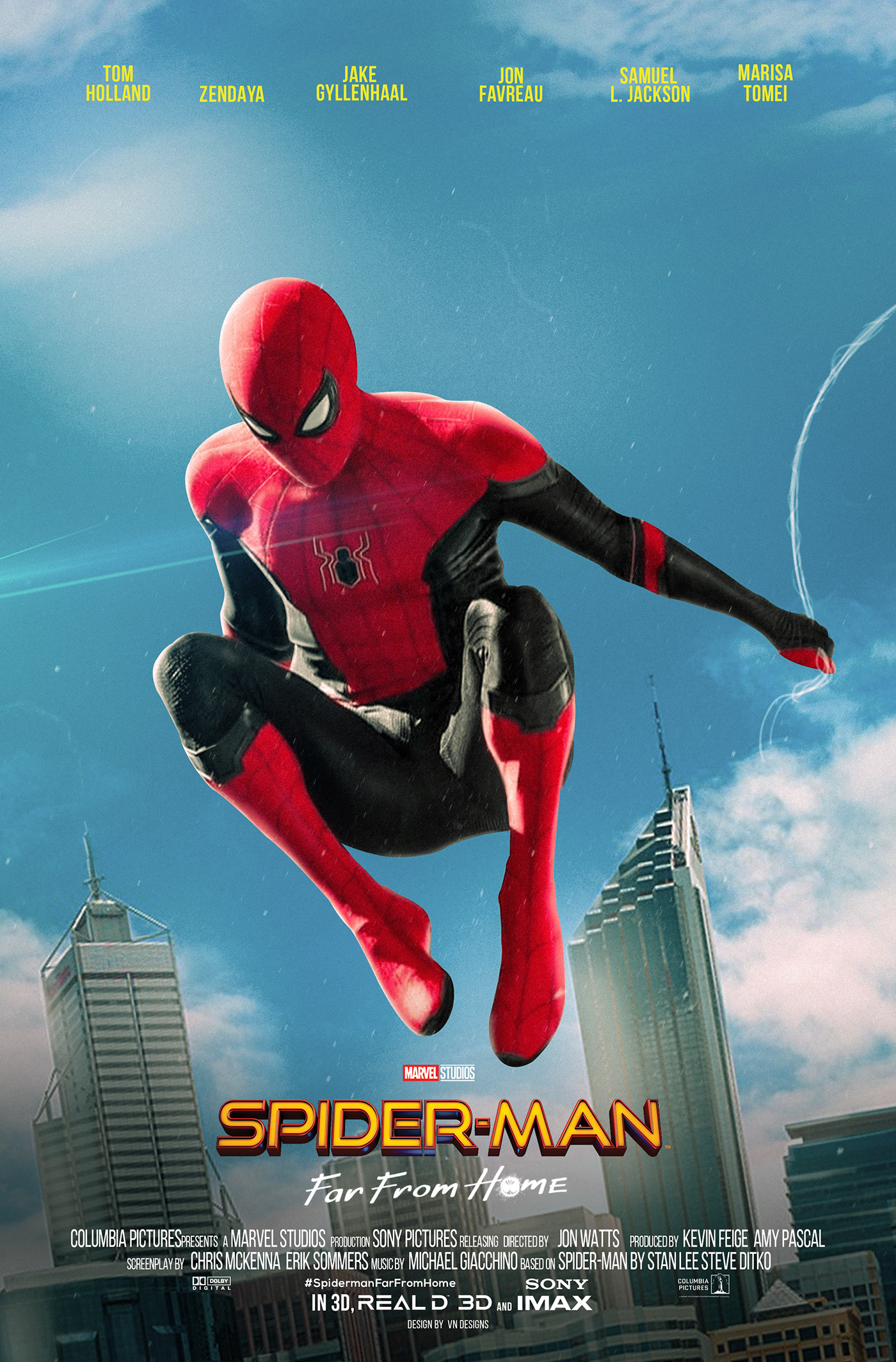 Spiderman: Far From Home | Poster Designs on Behance