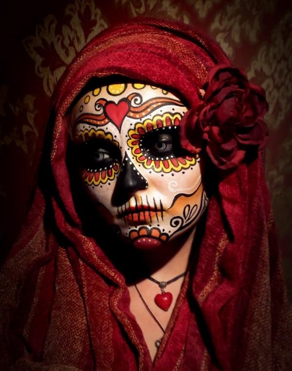 DIA De Los Muertos Art Makeup