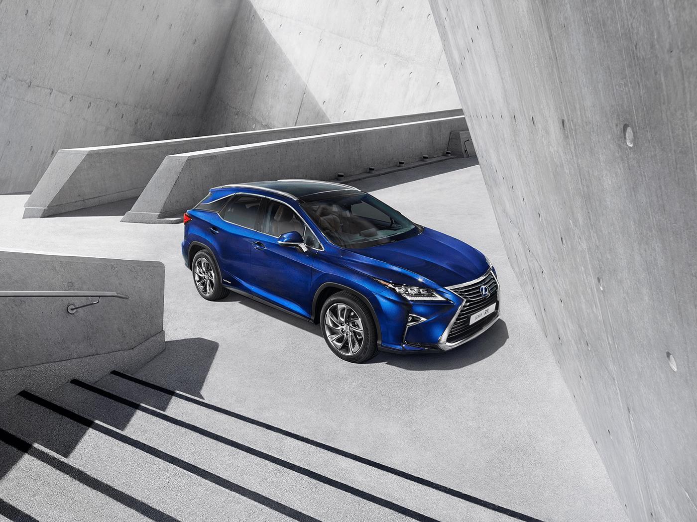 Lexus 2016 RX Hong Kong Launch Campaign on Behance