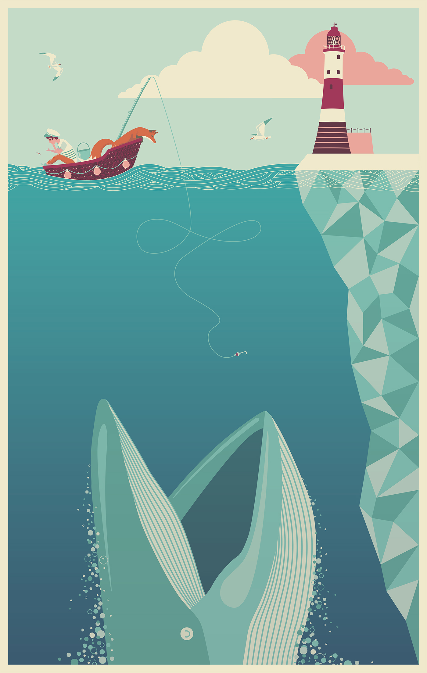 The Fear of Drowning on Behance