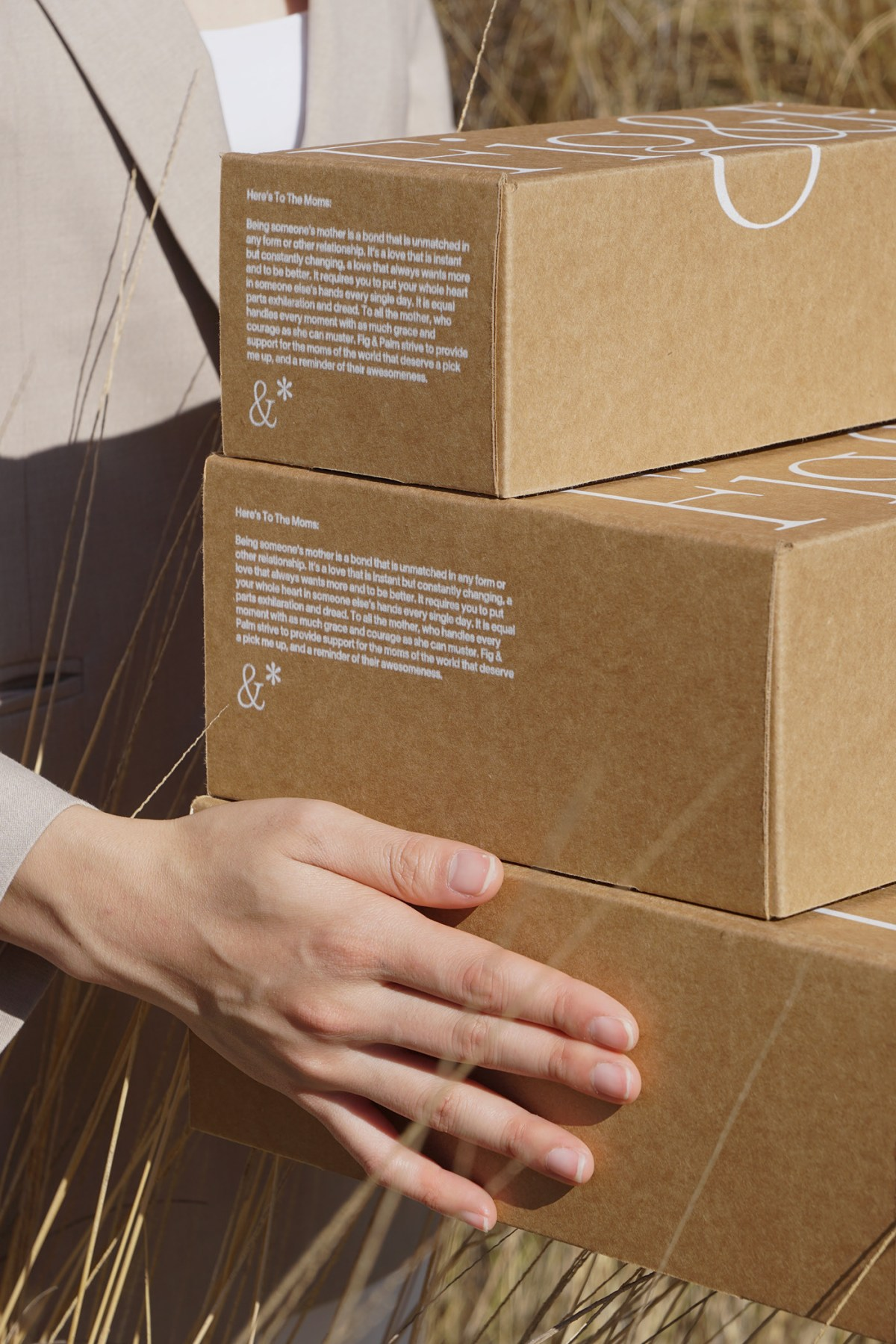 example of volumes of packaging