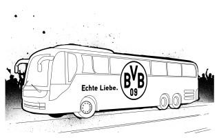 Bus Bilder Zum Ausmalen   Malvorlagen