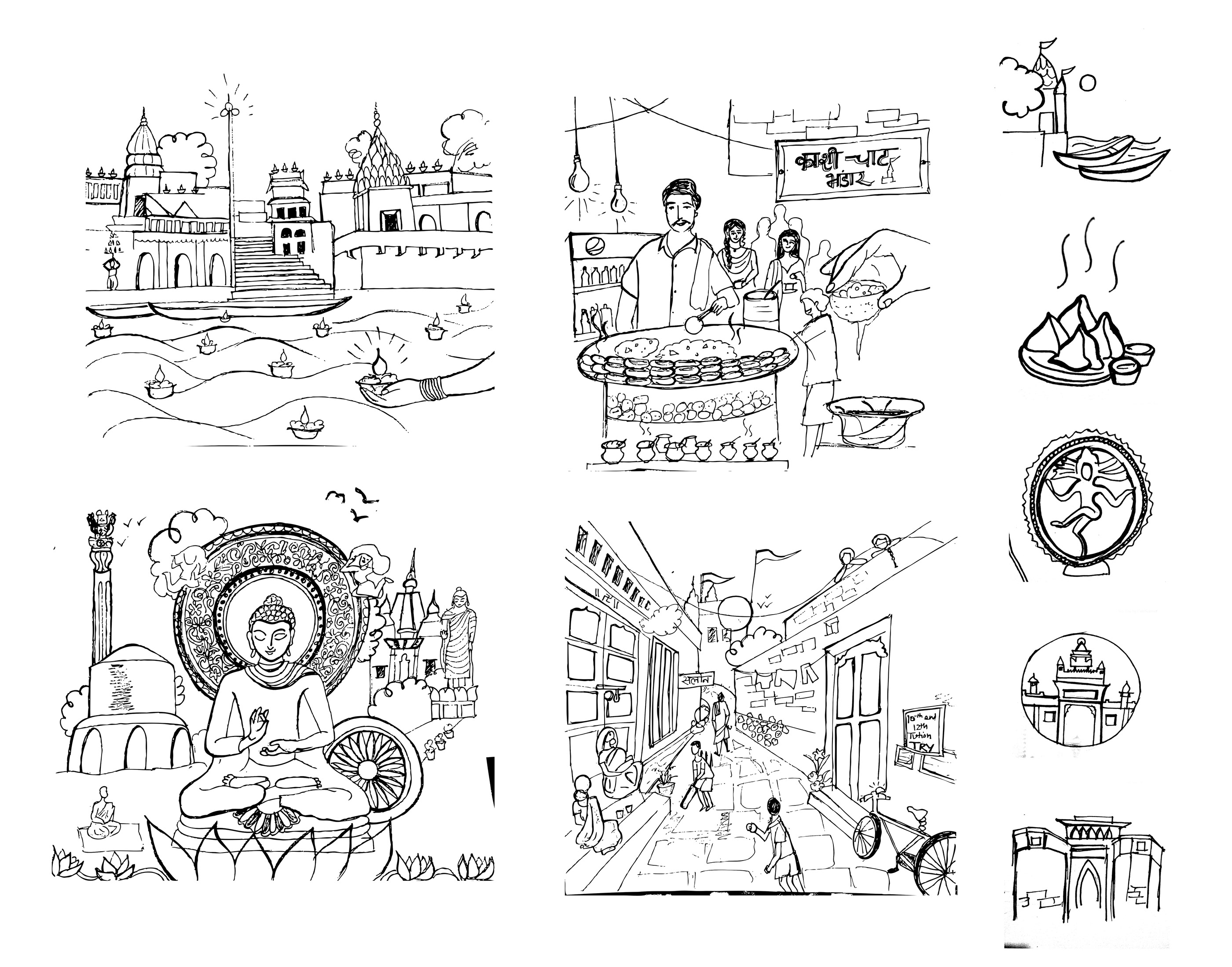 Banaras in a day- Tour guide on Behance