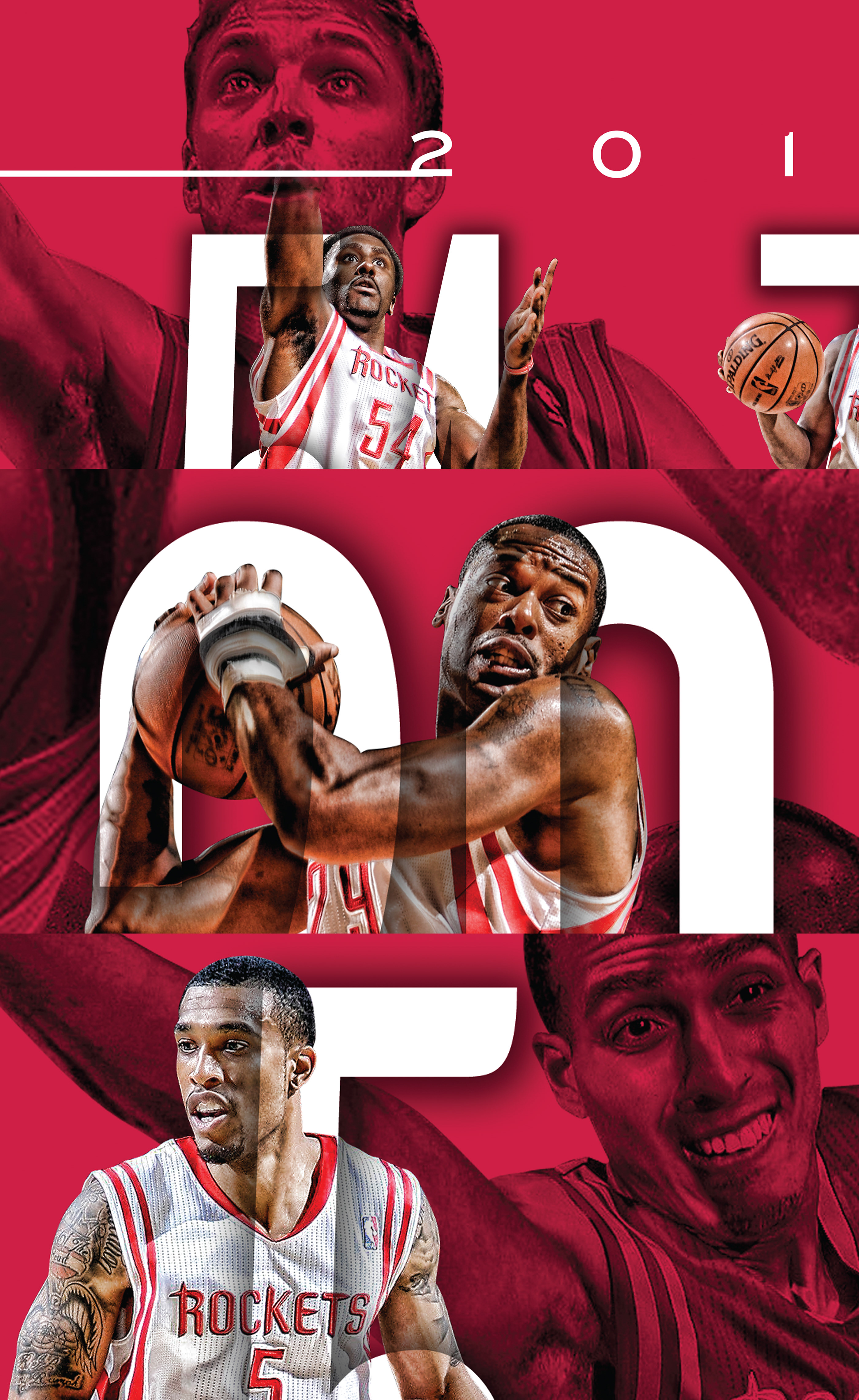 houston rockets posters on behance