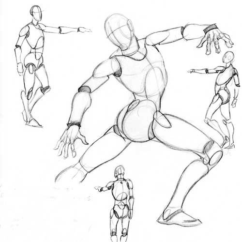 Concept Art & Story Design Course Character Design Unit on