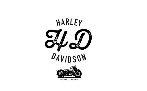 Harley Davidson Typography on Behance