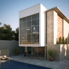Modern Living Room Design In Nigeria Toy Storage Ideas Villa Katampe - Facade And Interior On Behance