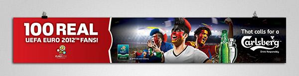 Carlsberg UEFA EURO 2012 on Behance