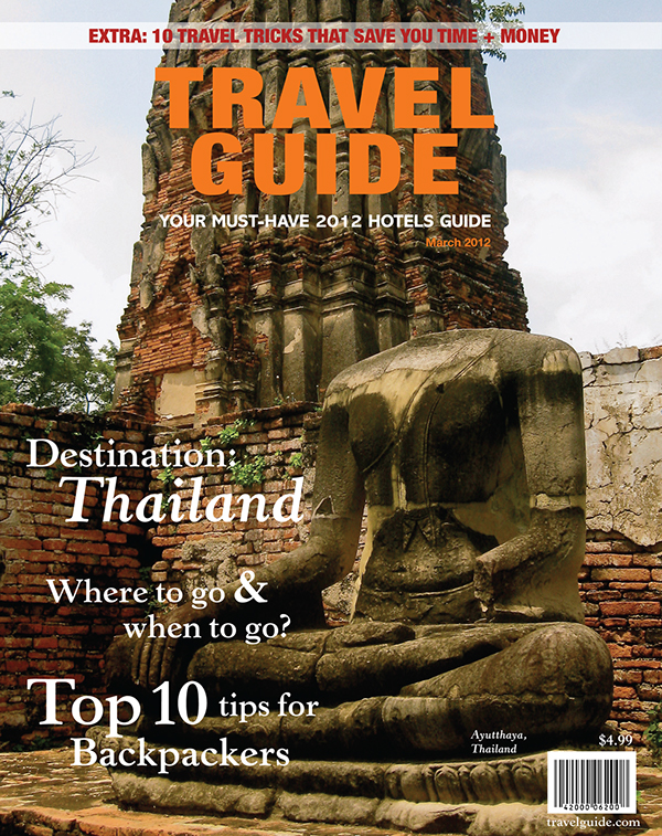 Travel Guide Magazine Cover  Contents Page Design on Behance