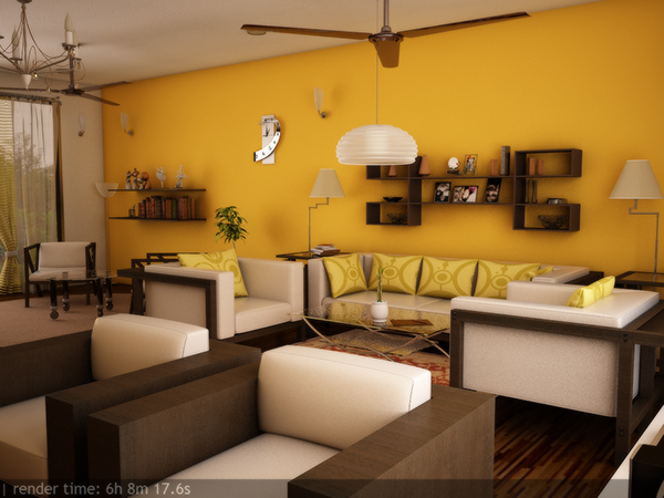 Interior Design In 3ds MAX Using Vray On Behance