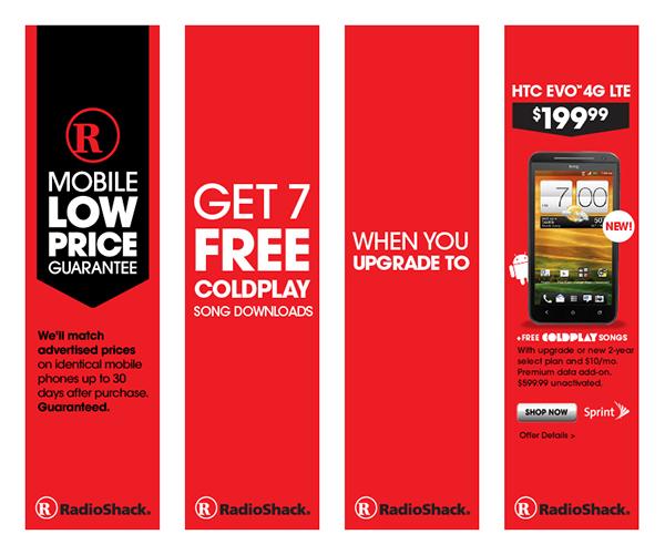 Radio Shack Online Marketing on Behance
