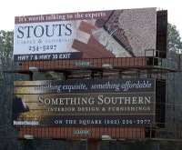 Stout's Carpet and Flooring Billboard Design on Behance