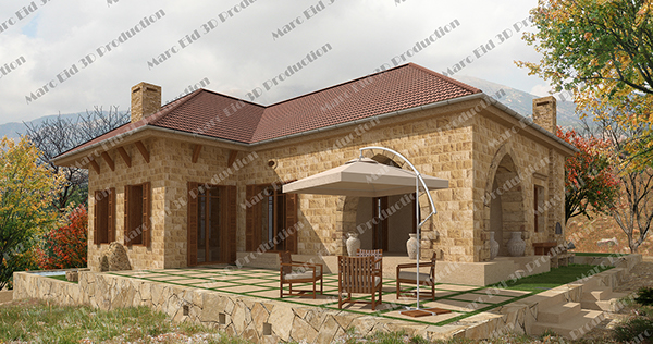Traditional Lebanese Home Design Photo House Plans