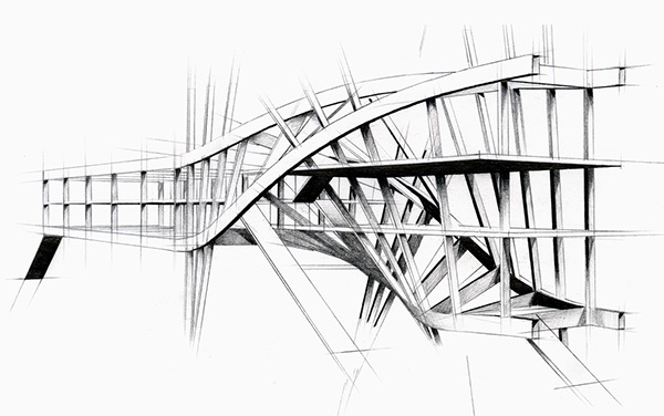 Intertwined Steel Architecture on Architecture Served