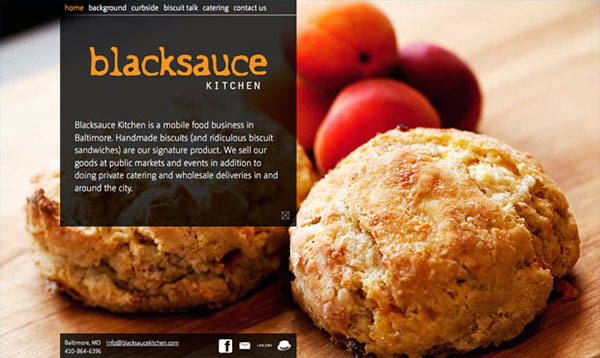 Blacksauce Kitchen Behance