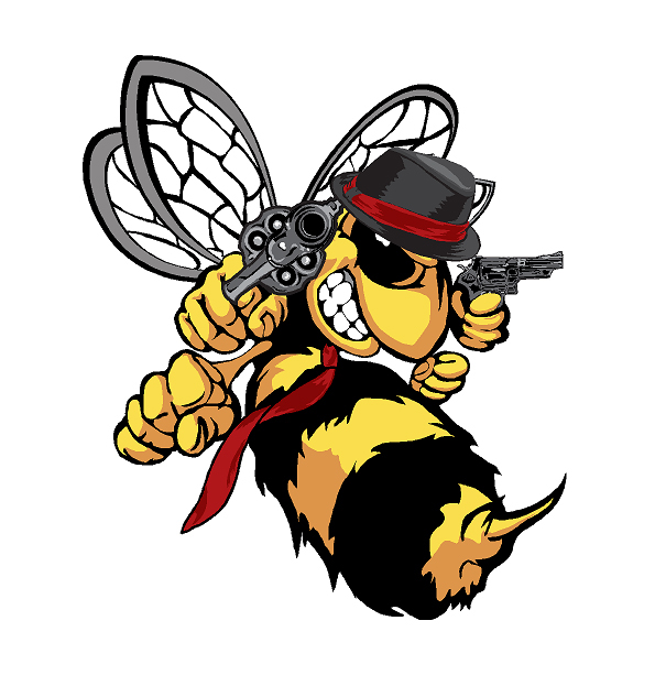killer bee illustrations