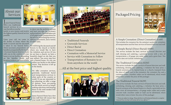 Funeral Home Brochure Design House Design Plans