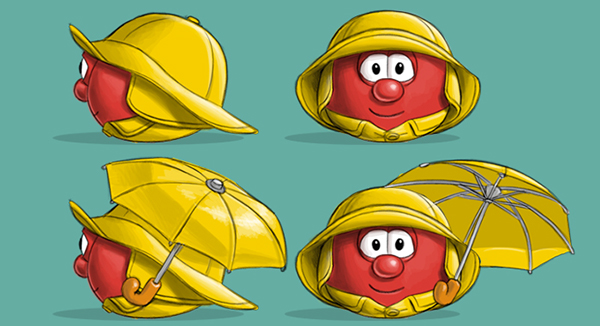Costume and Prop Designs for VeggieTales on Behance