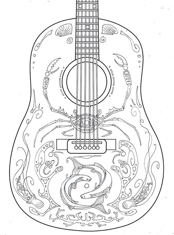 Fender Aquatic Guitar on RISD Portfolios