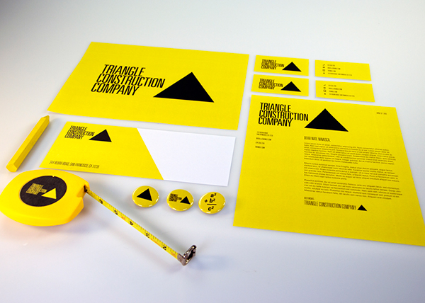 Triangle Construction Company On Behance