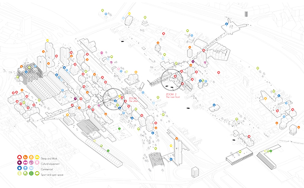 ROUEN ON THE MOVE, EUROPAN 12 2nd PRIZE!! on Behance