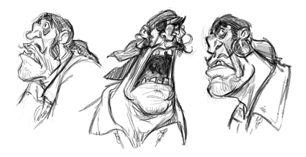 Sketches 01 on Behance
