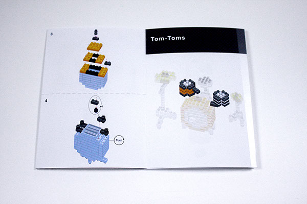 Nanoblock Instructions on Behance