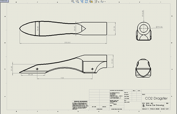 3D Race Car on Behance
