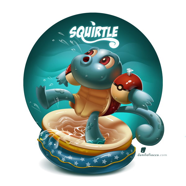 Squirtle on Behance