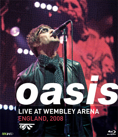 Oasis Live At Wembley Blu-ray on Behance