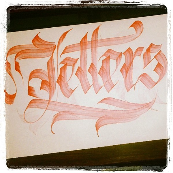 Calligraphy Practice on Behance