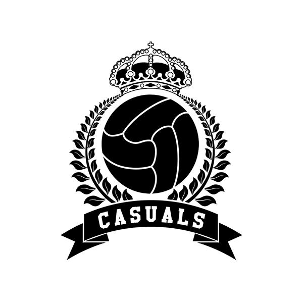 boulevard casuals badge design