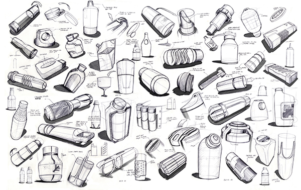 Husqvarna Oil Bottles on Behance