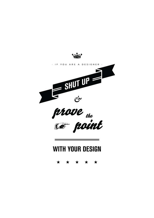 I design, therefore I am on Behance