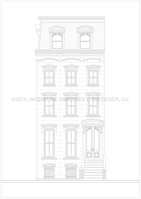 Row House Illustrations on Behance