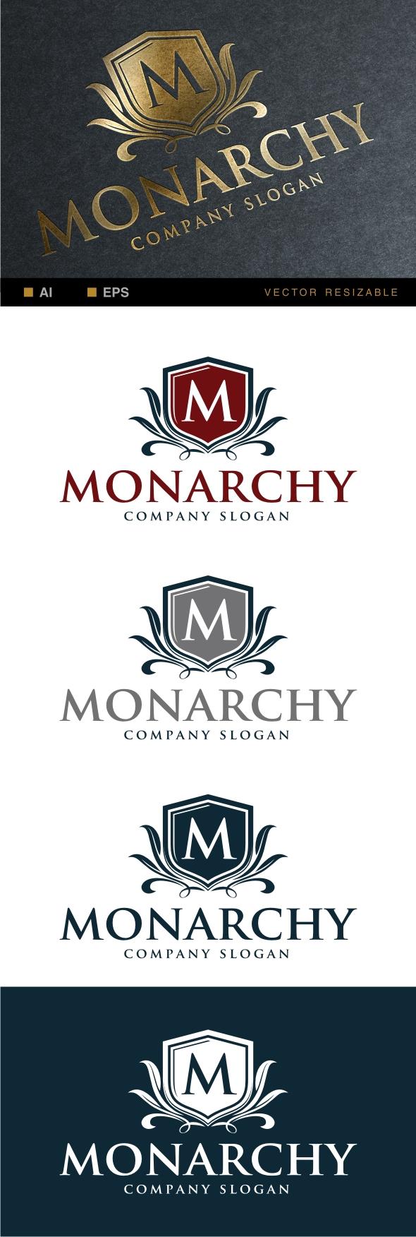 Monarchy Logo on Behance