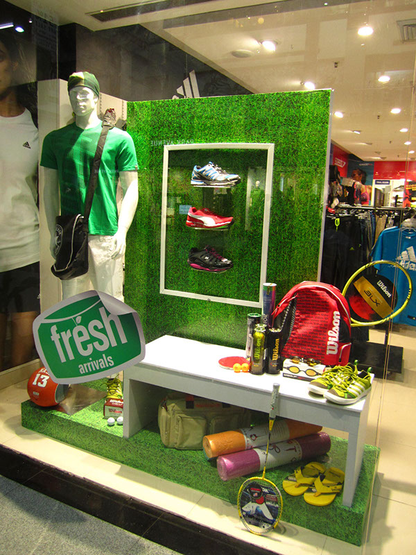 Planet Sports Window Displays Gurgaon On Behance