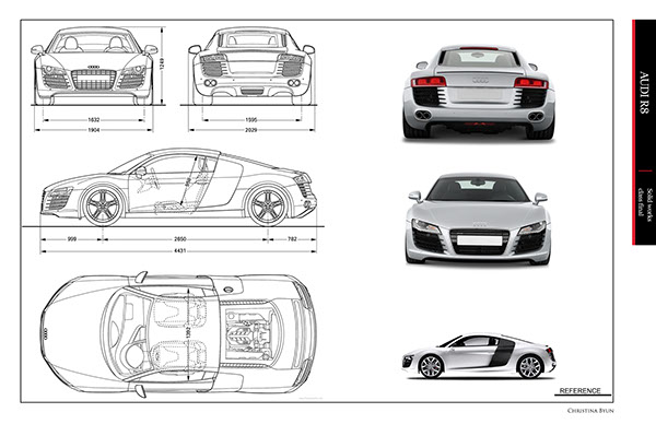 Audi R8(WIP) on SCAD Portfolios