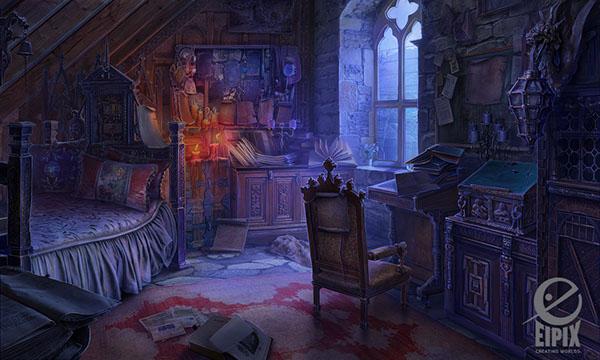 Art for the Hidden Object game MCFRavenhearst Unlocked on