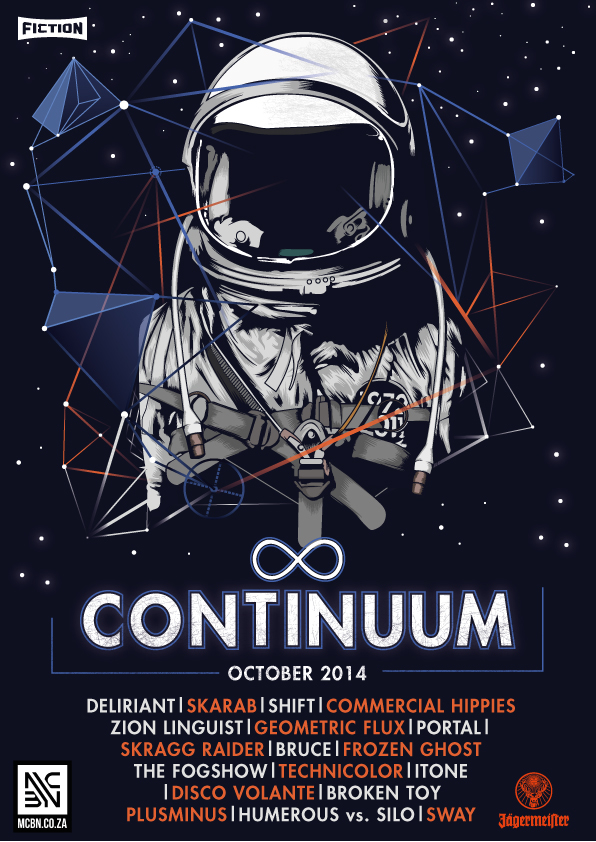 Continuum Poster on Behance