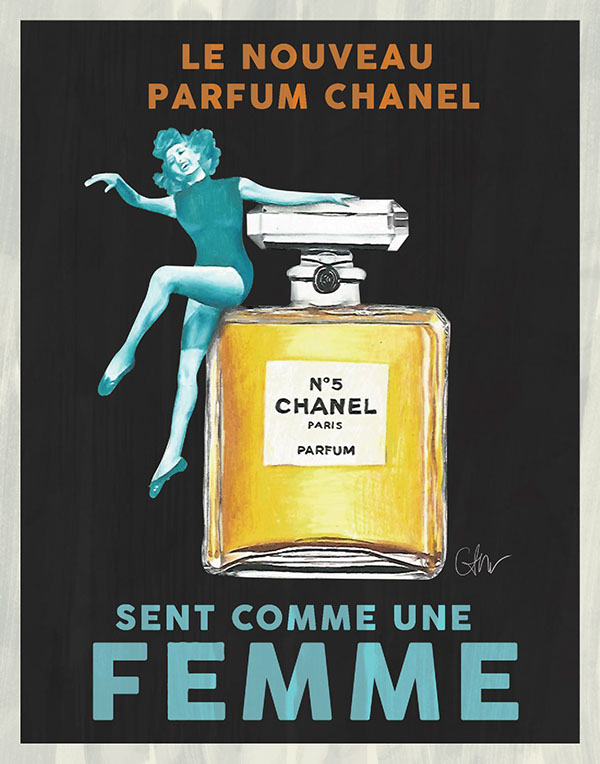 poster parfum amat