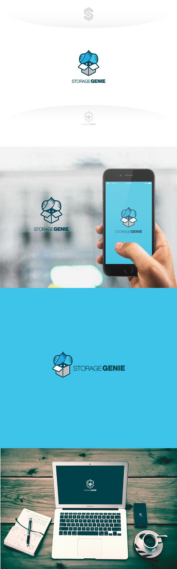 Storage Genie on Behance