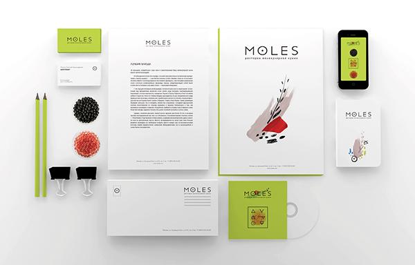 Moles — molecular gastronomy restaurant on Behance
