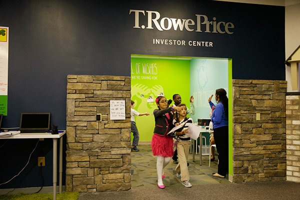 T Rowe Price  JA BizTown Kids Environment on Behance