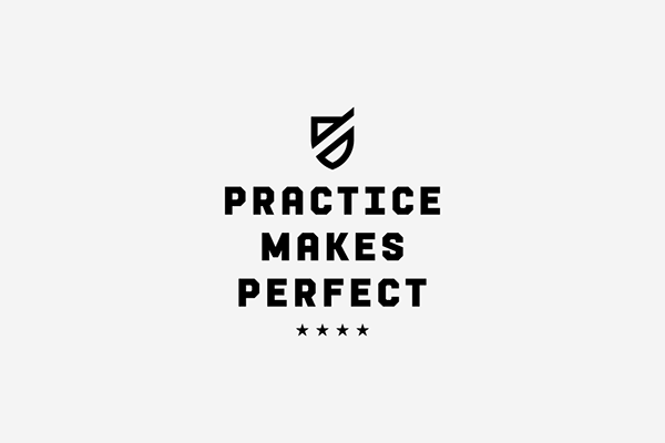 Practice Makes Perfect on Behance