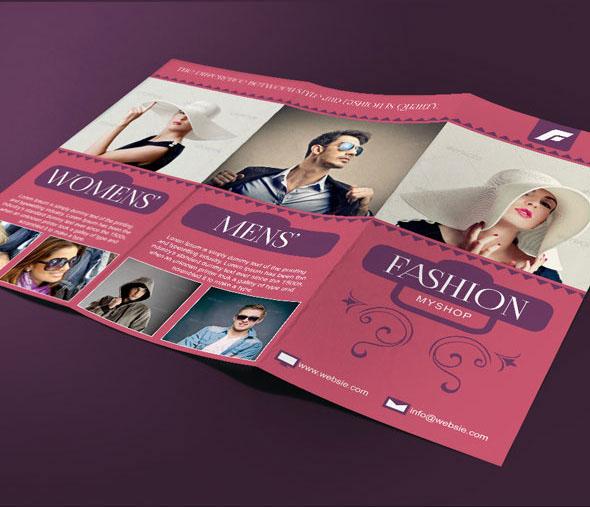 Fashion Tri Fold Brochure Template On Behance